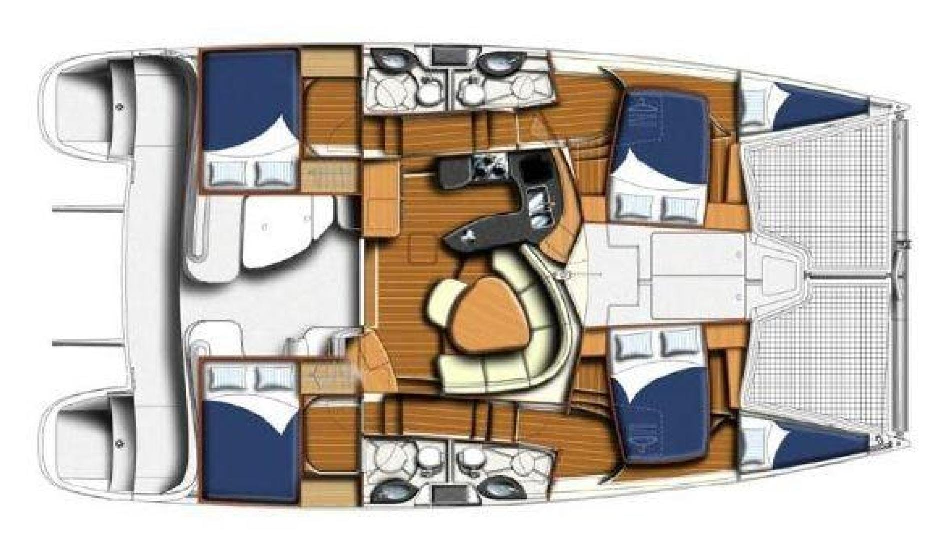 2005 Leopard 43' 43 Cool Change | Picture 5 of 24