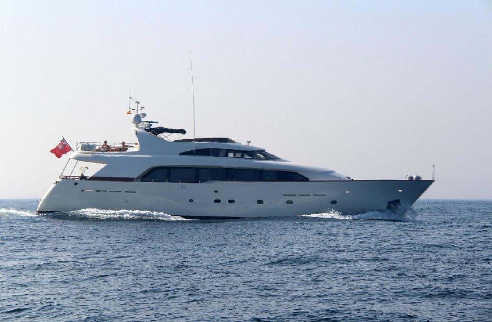 "1998 Bugari 90' Motor Yacht ""LADY MIKKI"""