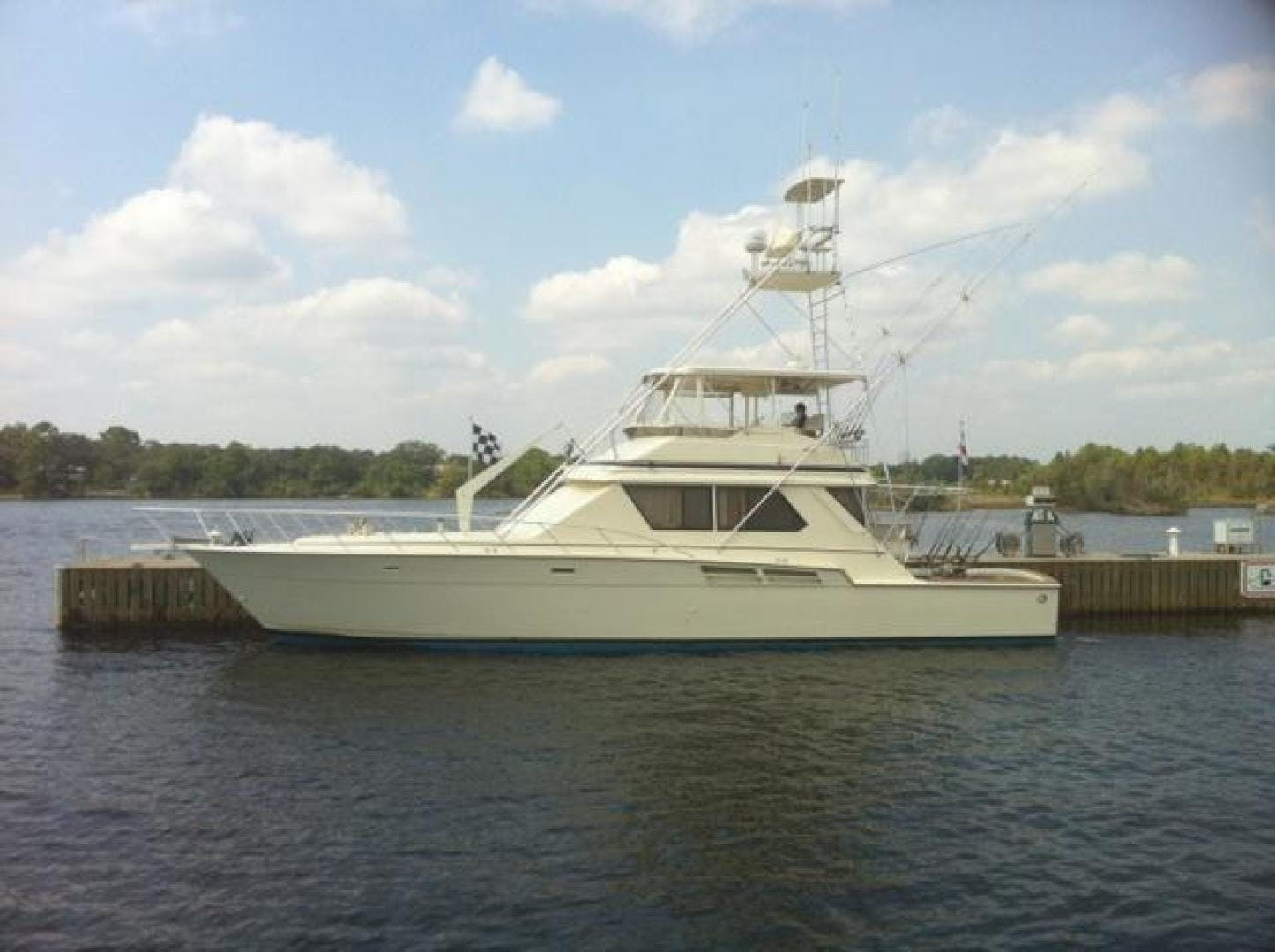 1986 Chris-Craft 58' Convertible Sea Ya | Picture 2 of 21
