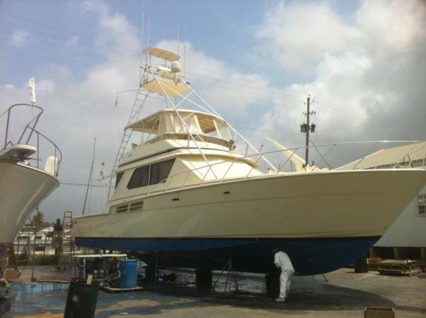 1986 Chris-Craft 58' Convertible Sea Ya | Picture 1 of 21
