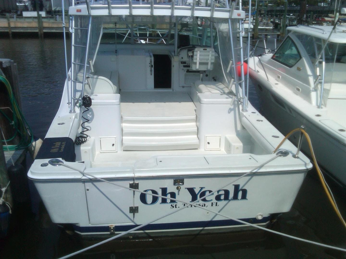 1998 Luhrs 36' Express Fisherman Oh Yeah | Picture 2 of 8
