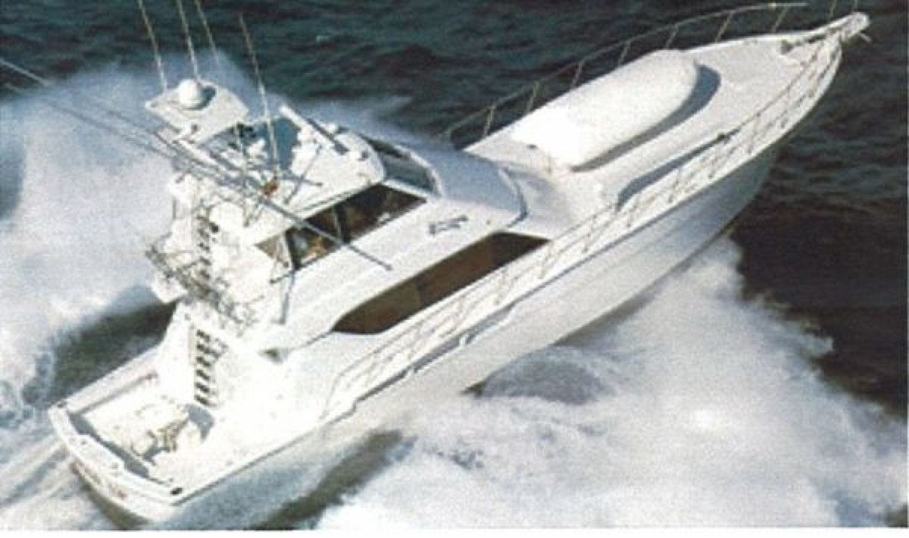 1999 Hatteras 60' Enclosed Bridge Convertible 1999 Reel Time | Picture 1 of 10
