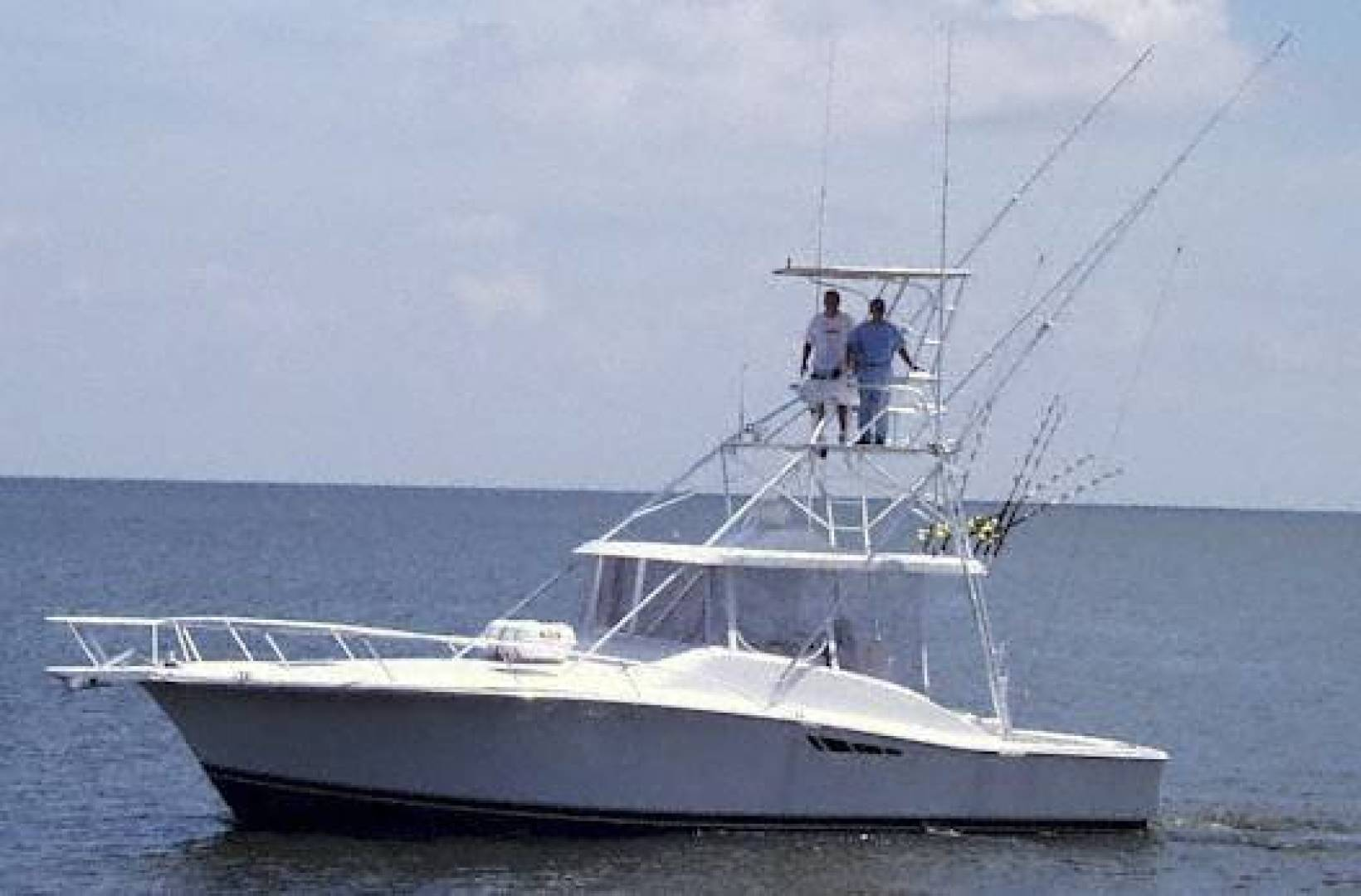 38' Luhrs 1997 Open Fish Blues Man