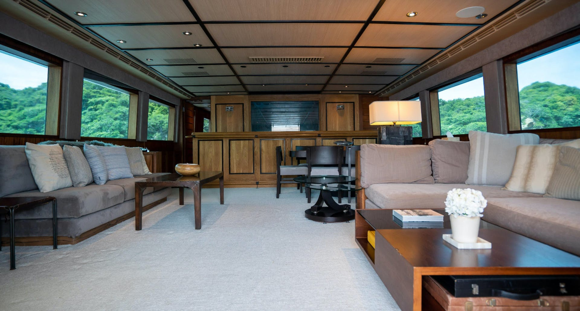 1986 Poole Boat Company 98' Raised Pilothouse with Cockpit Marazul | Picture 7 of 49