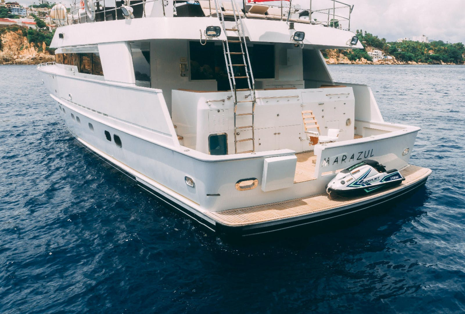 1986 Poole Boat Company 98' Raised Pilothouse with Cockpit Marazul | Picture 5 of 49