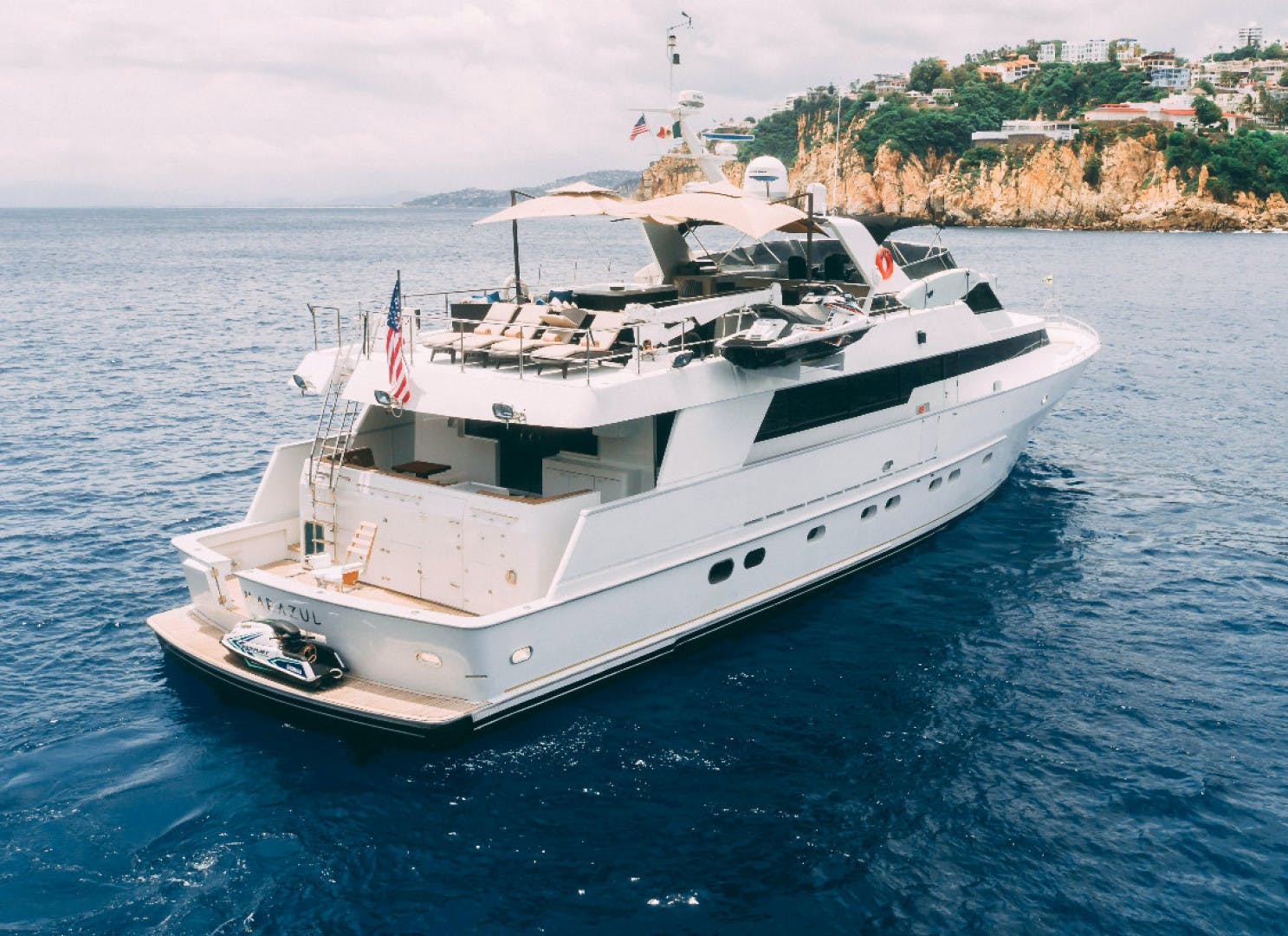 1986 Poole Boat Company 98' Raised Pilothouse with Cockpit Marazul | Picture 3 of 49