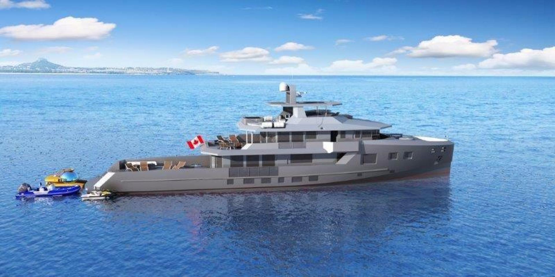 2021 Custom 132' Bray Ocean Rover 132