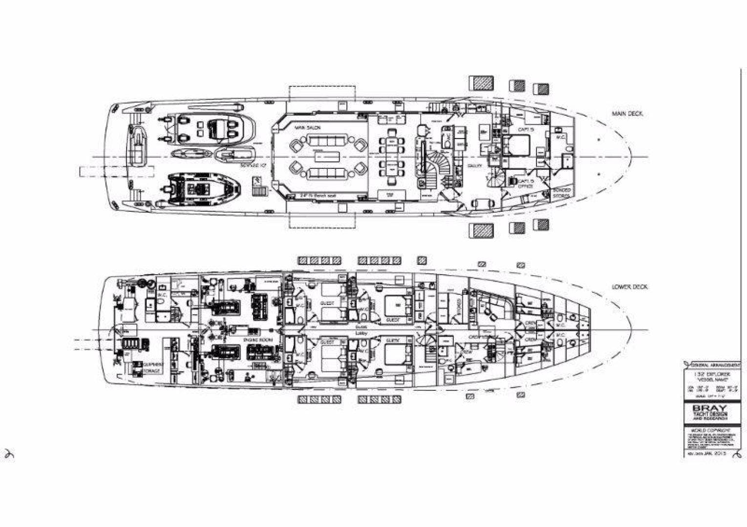 2021 Custom 132' Bray Ocean Rover 132  | Picture 4 of 5