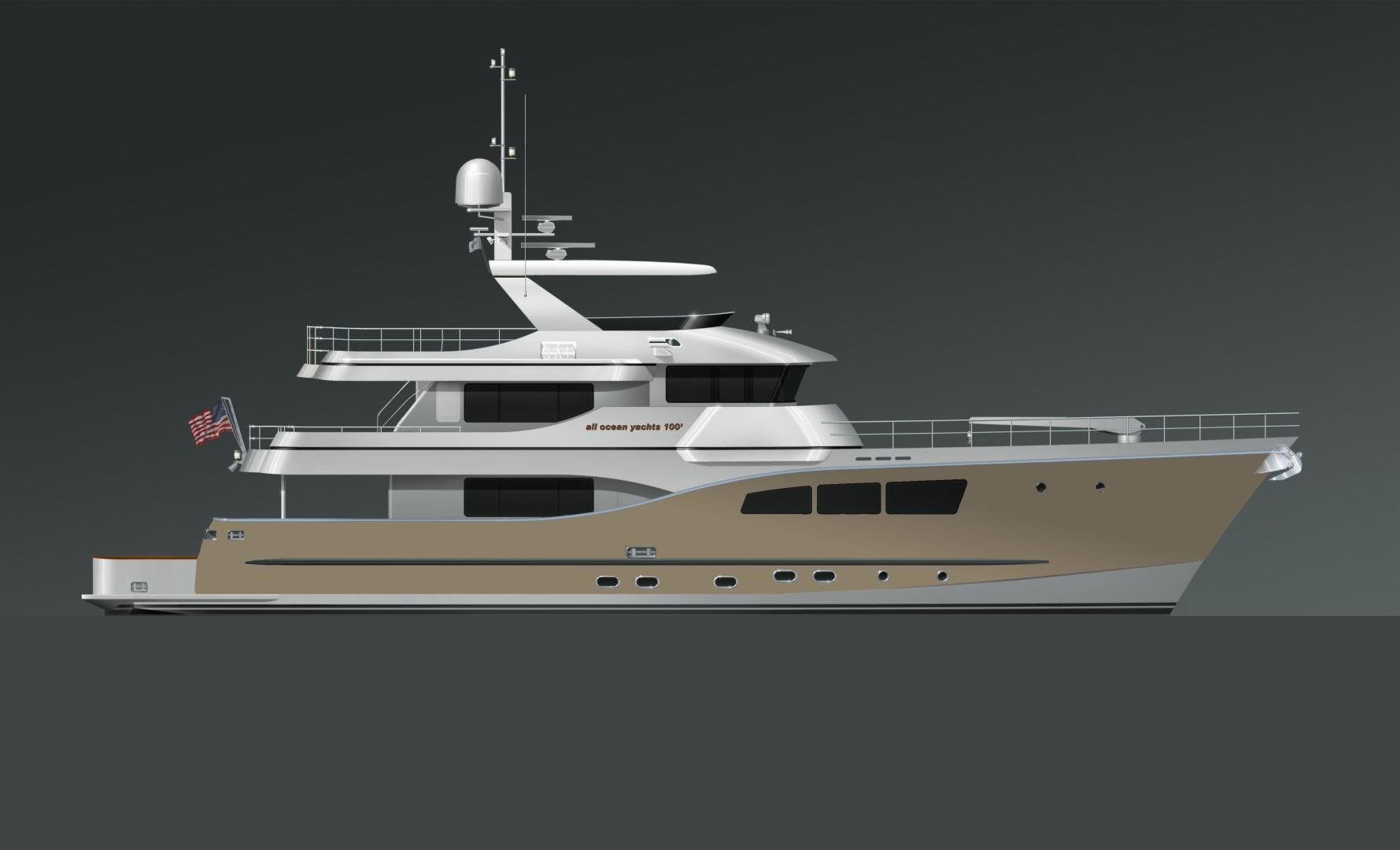 2021 Custom 100' Tri-Deck Explorer Yacht