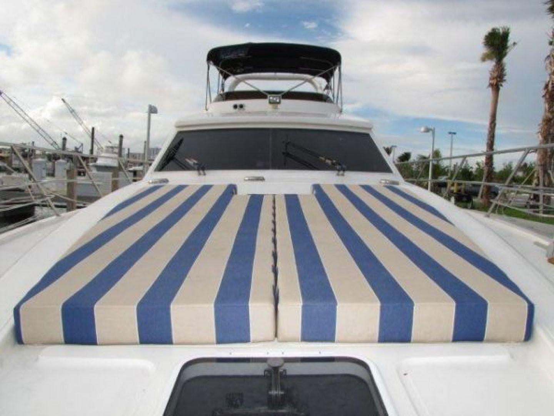 2000 Gulf Craft 56' Sport Flybridge Cruiser Tiger Cat | Picture 3 of 60