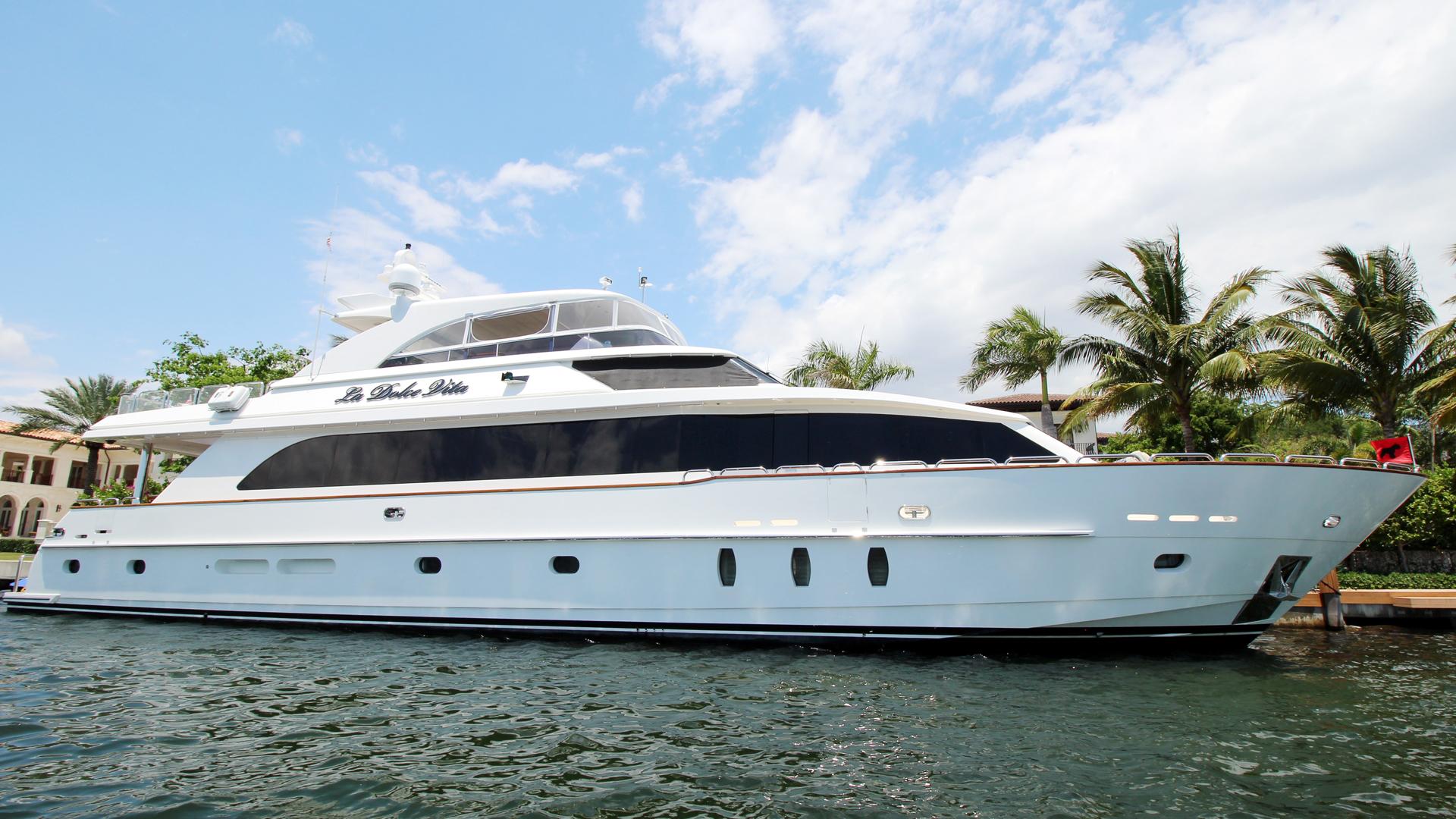 "2009 Hargrave 101' Raised Pilot House Motor Yacht ""La Dolce Vita"""