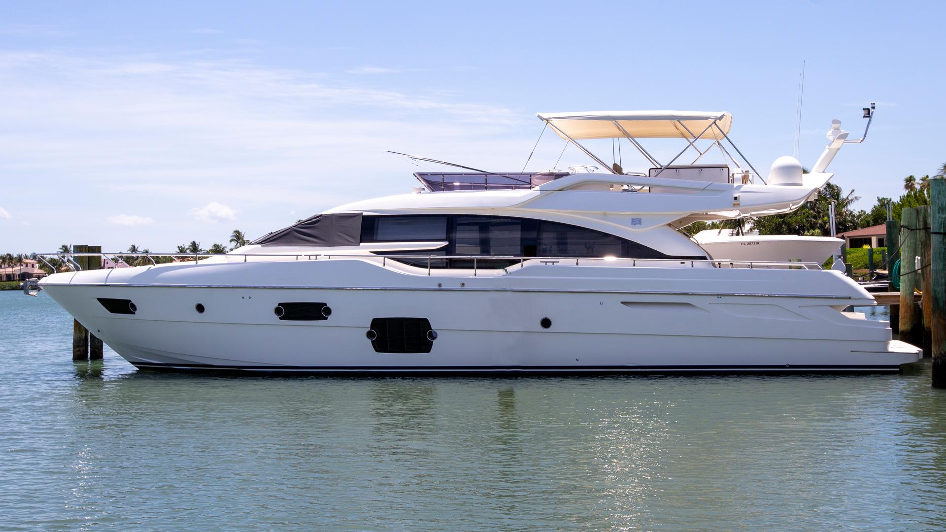 """2014 Ferretti Yachts 69' 690 """"Cloud Break"""""""