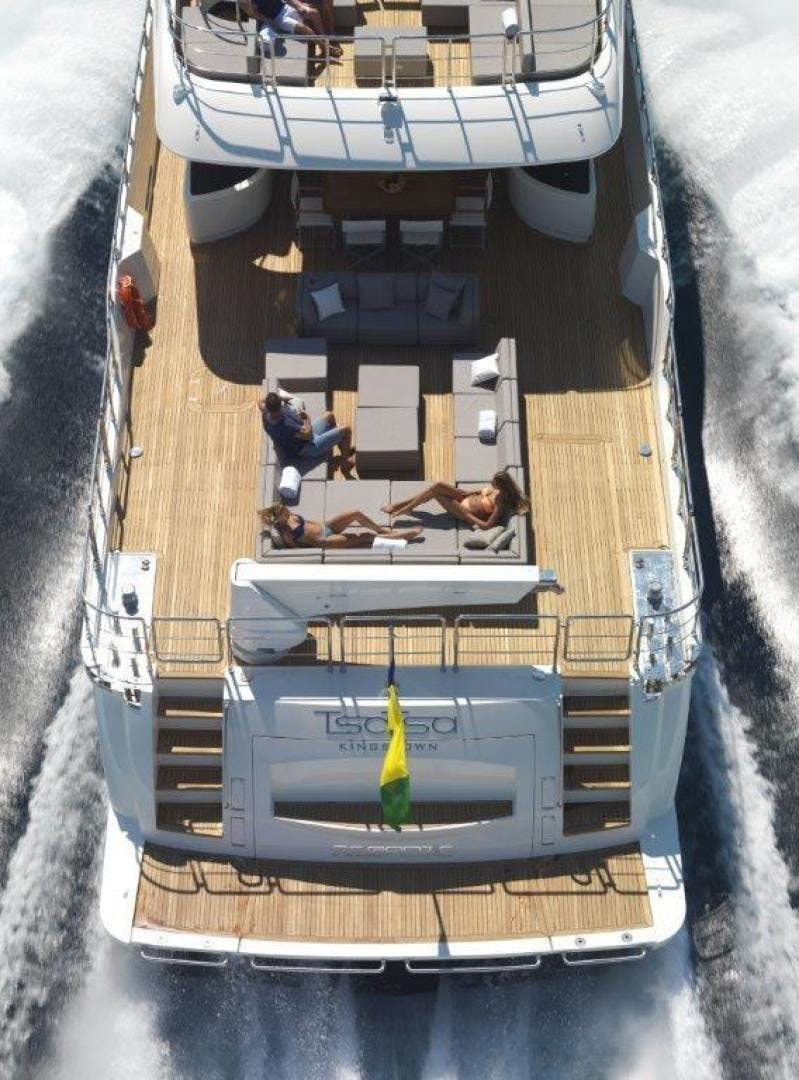 2018 Canados 95' Oceanic Tri-Deck  | Picture 1 of 18