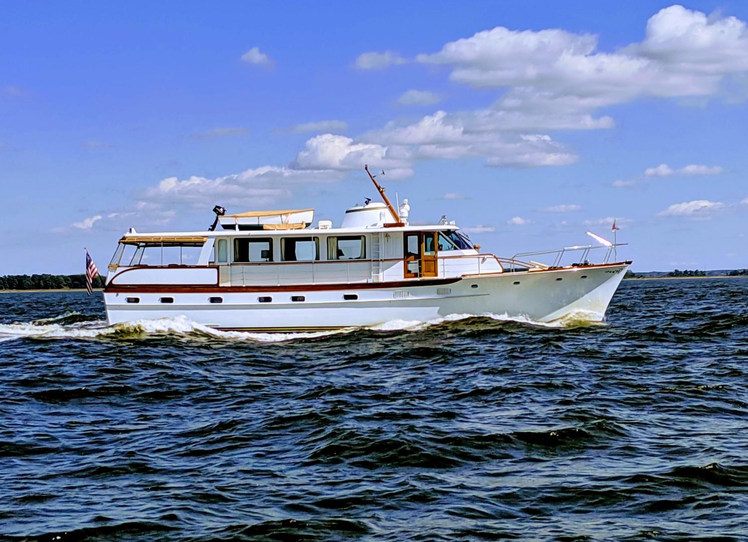 "1969 Trumpy 63' Houseboat ""Angelus"""