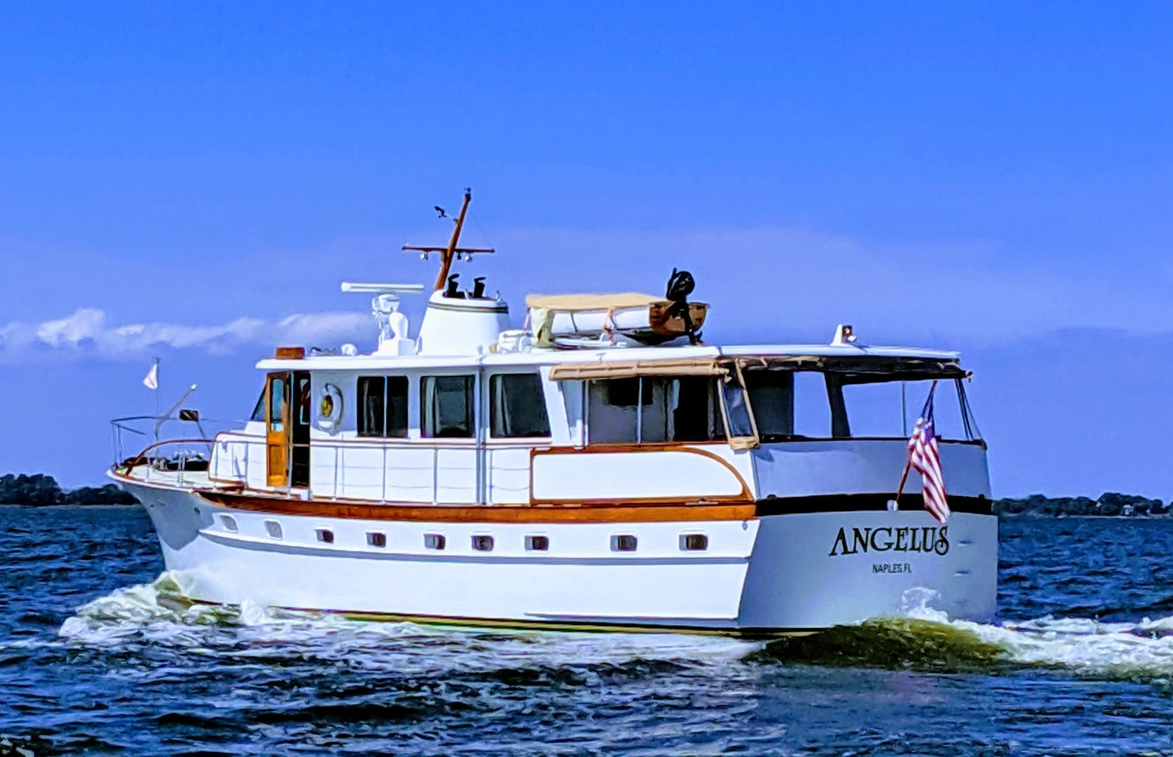 1969 Trumpy 63' Houseboat Angelus | Picture 2 of 30