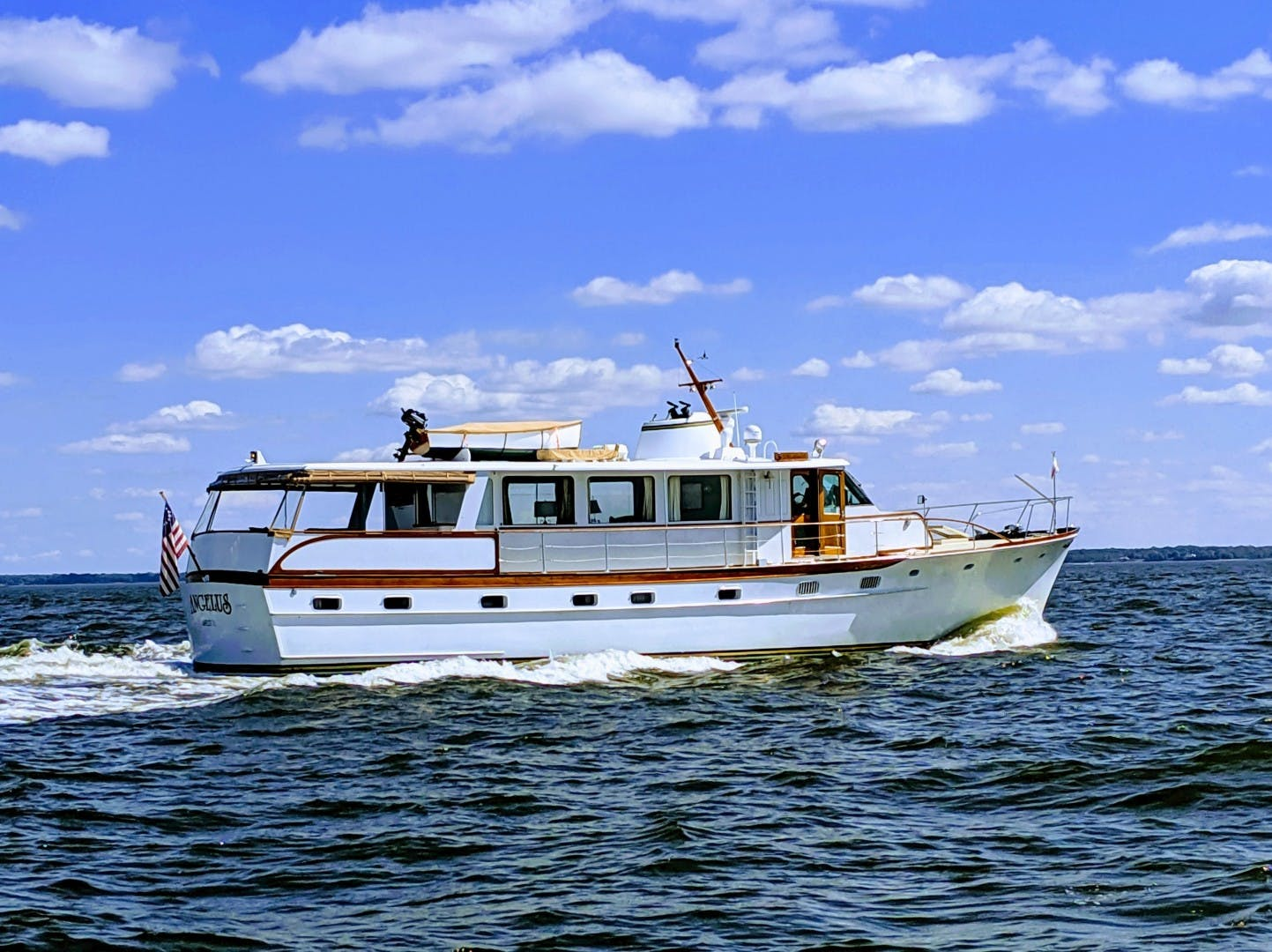 1969 Trumpy 63' Houseboat Angelus | Picture 4 of 30