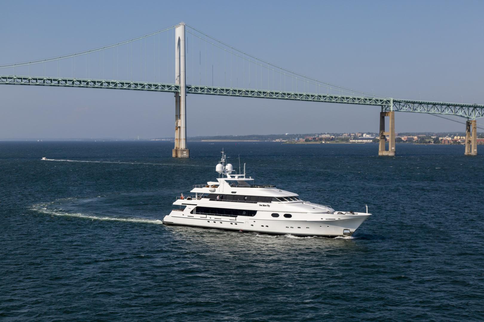 """2001 Christensen 155' Tri Deck Motor Yacht """"ONE MORE TOY"""""""