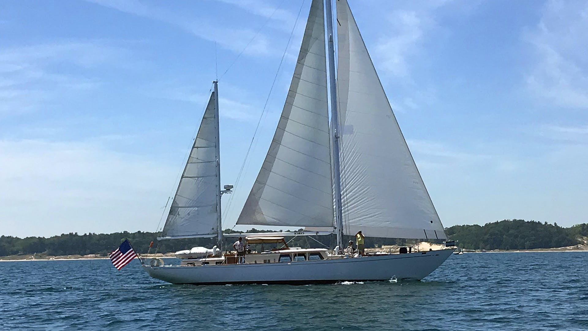 1966 Sparkman & Stephens 65' Custom S&S 65' Ketch Circe | Picture 1 of 14