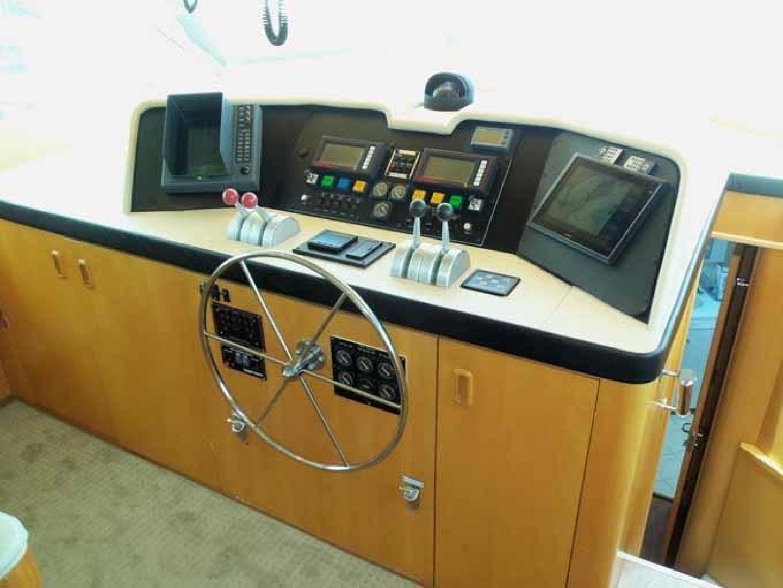 1996 Hatteras 74' Motoryacht Sport Deck DUCHESS | Picture 3 of 81