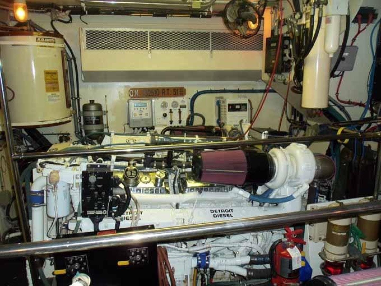 1996 Hatteras 74' Motoryacht Sport Deck DUCHESS | Picture 6 of 81