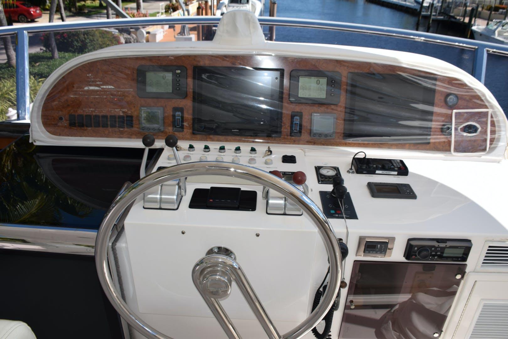 2005 Horizon 76' 76' Open Flybridge SWEET JANINE   Picture 3 of 75