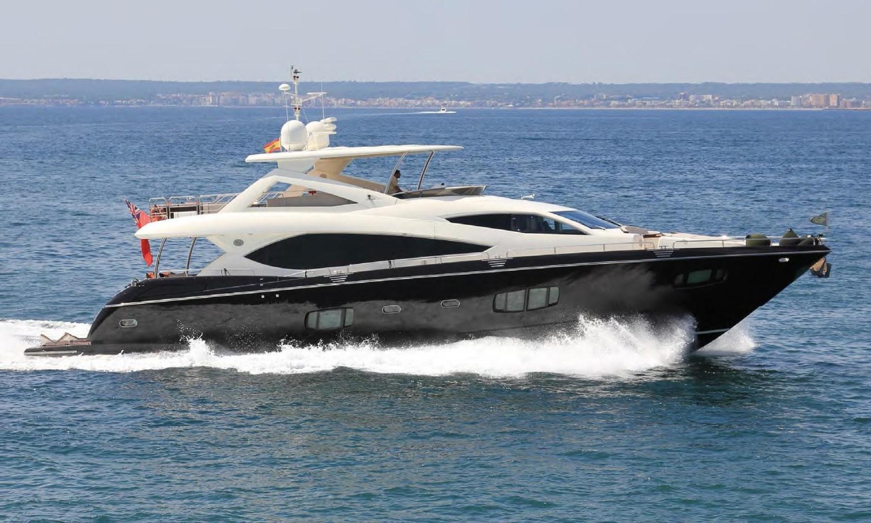 88' Sunseeker 2009 Flybridge Motoryacht ANNABEL
