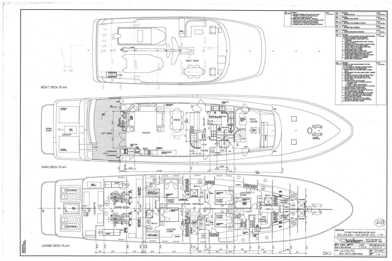 1990 Christensen 115' Cockpit Motoryacht OCEAN PEARL | Picture 8 of 40