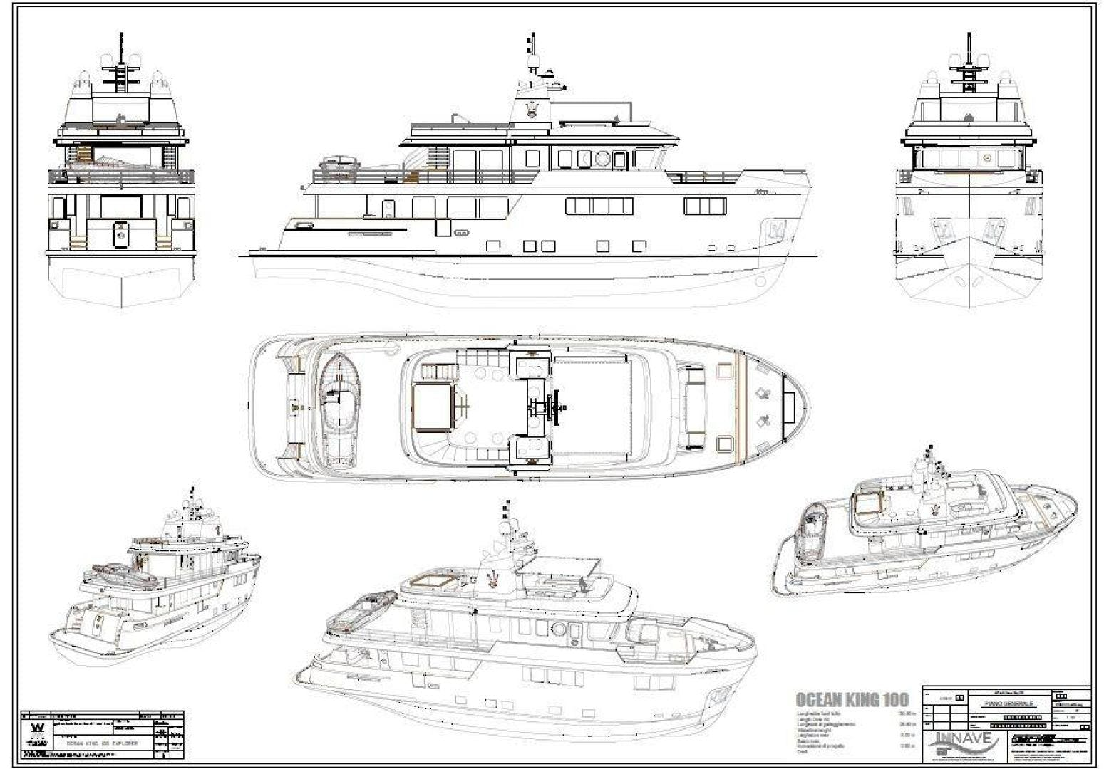 2020 Ocean King 101' Americana  | Picture 1 of 12