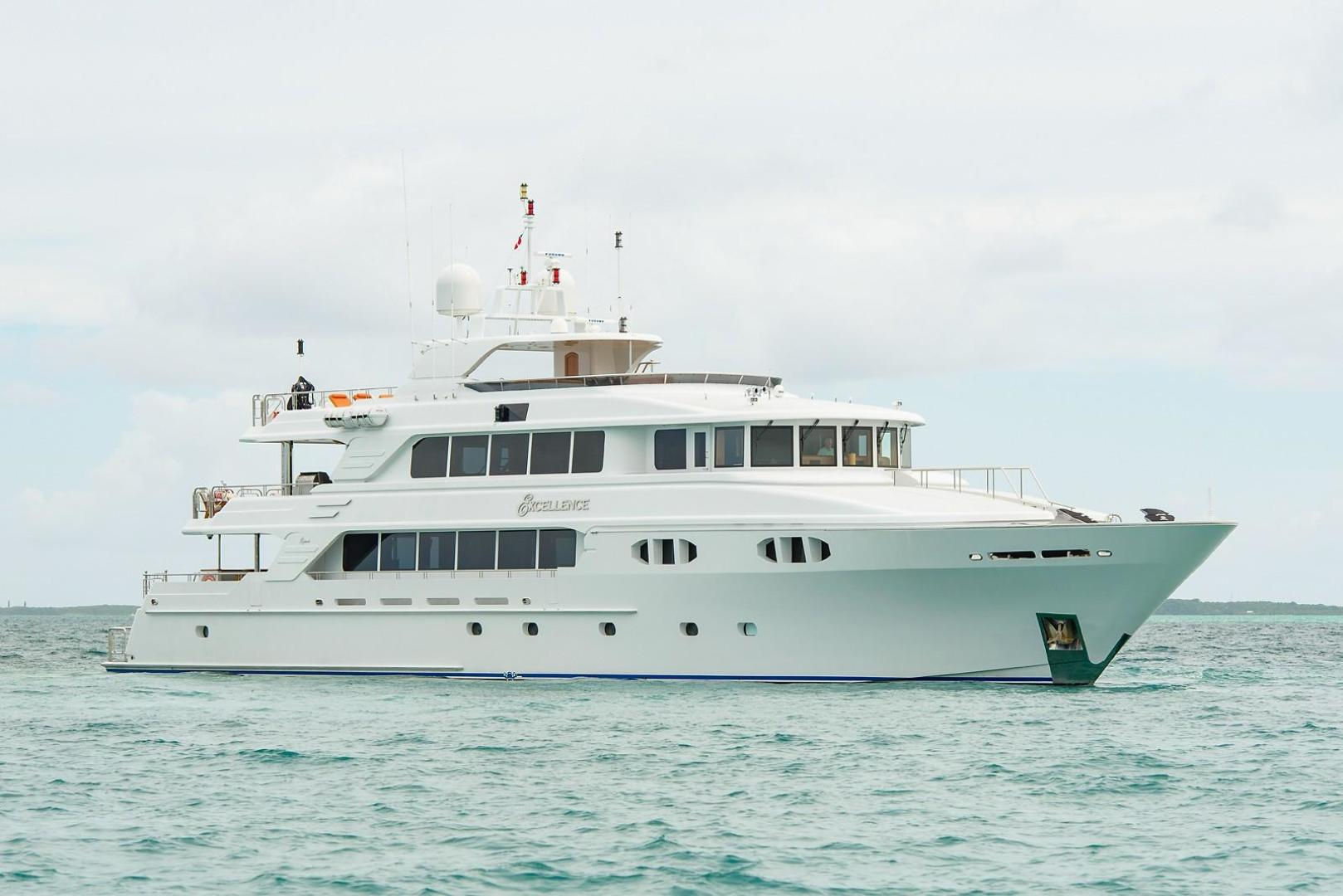 """2010 Richmond Yachts 150' Tri-Deck Motor Yacht """"EXCELLENCE"""""""