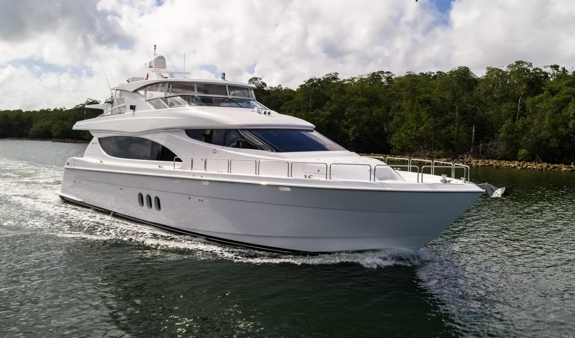 2013 Hatteras 80' 80 Motor Yacht