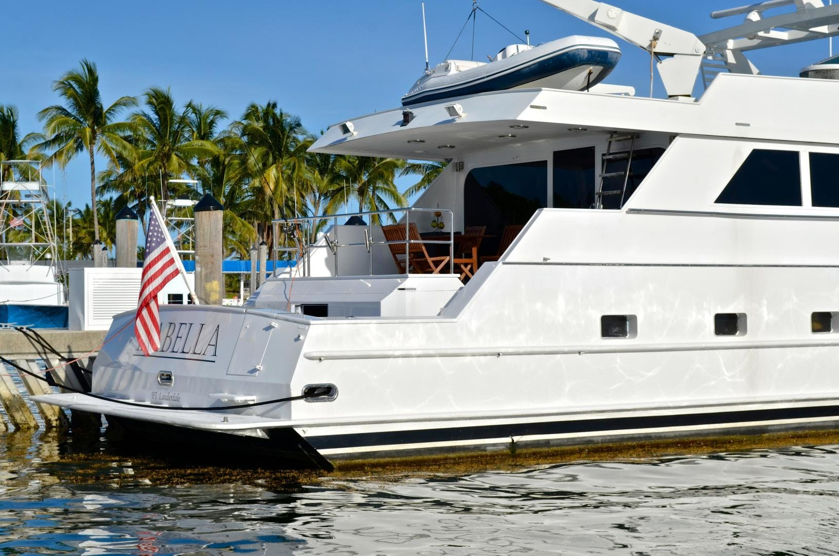 1989 Broward 104' Cockpit Motor Yacht ISABELLA   Picture 4 of 74