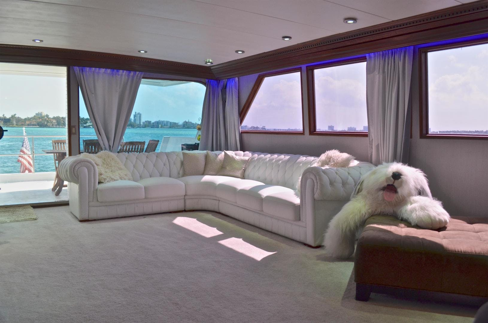 1989 Broward 104' Cockpit Motor Yacht ISABELLA | Picture 7 of 74