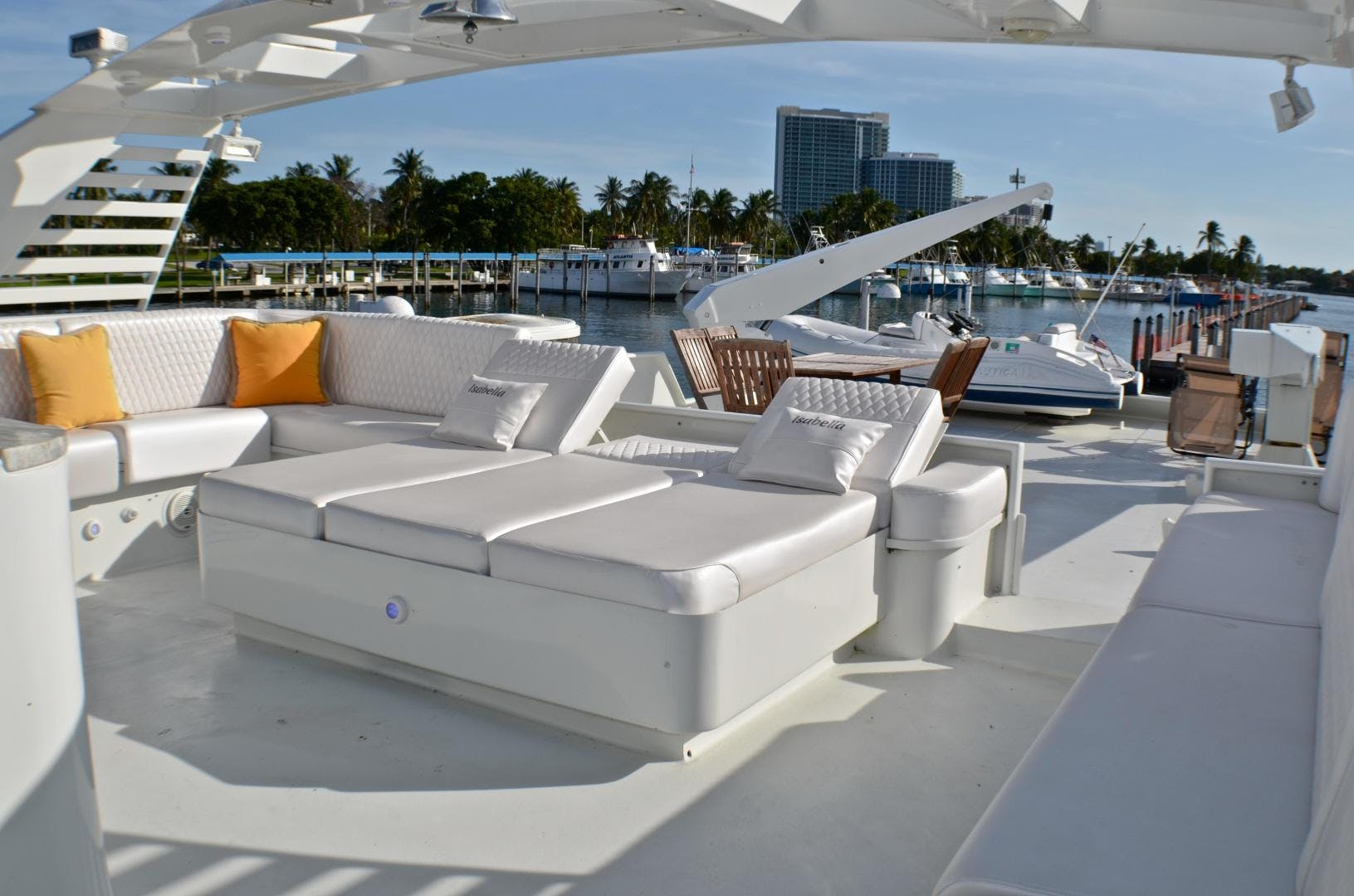 1989 Broward 104' Cockpit Motor Yacht ISABELLA   Picture 2 of 74