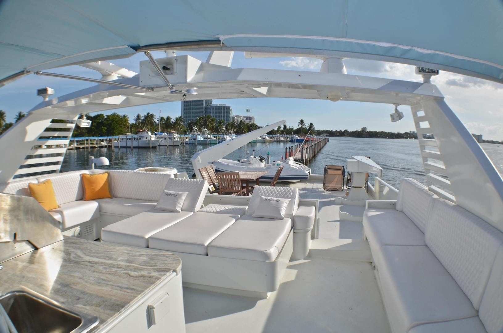 1989 Broward 104' Cockpit Motor Yacht ISABELLA | Picture 5 of 74