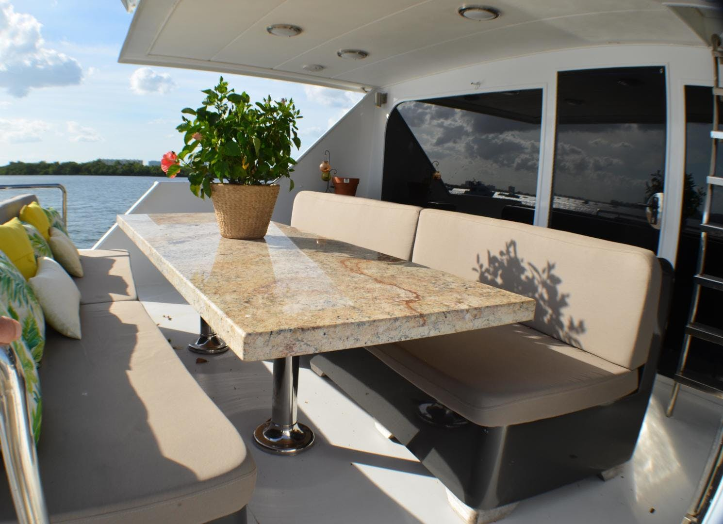 1989 Broward 104' Cockpit Motor Yacht ISABELLA   Picture 8 of 74