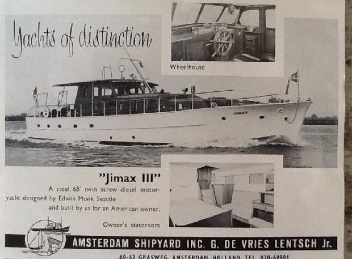 1953 De Vries Lentsch 68' 68 Motoryacht  | Picture 3 of 103