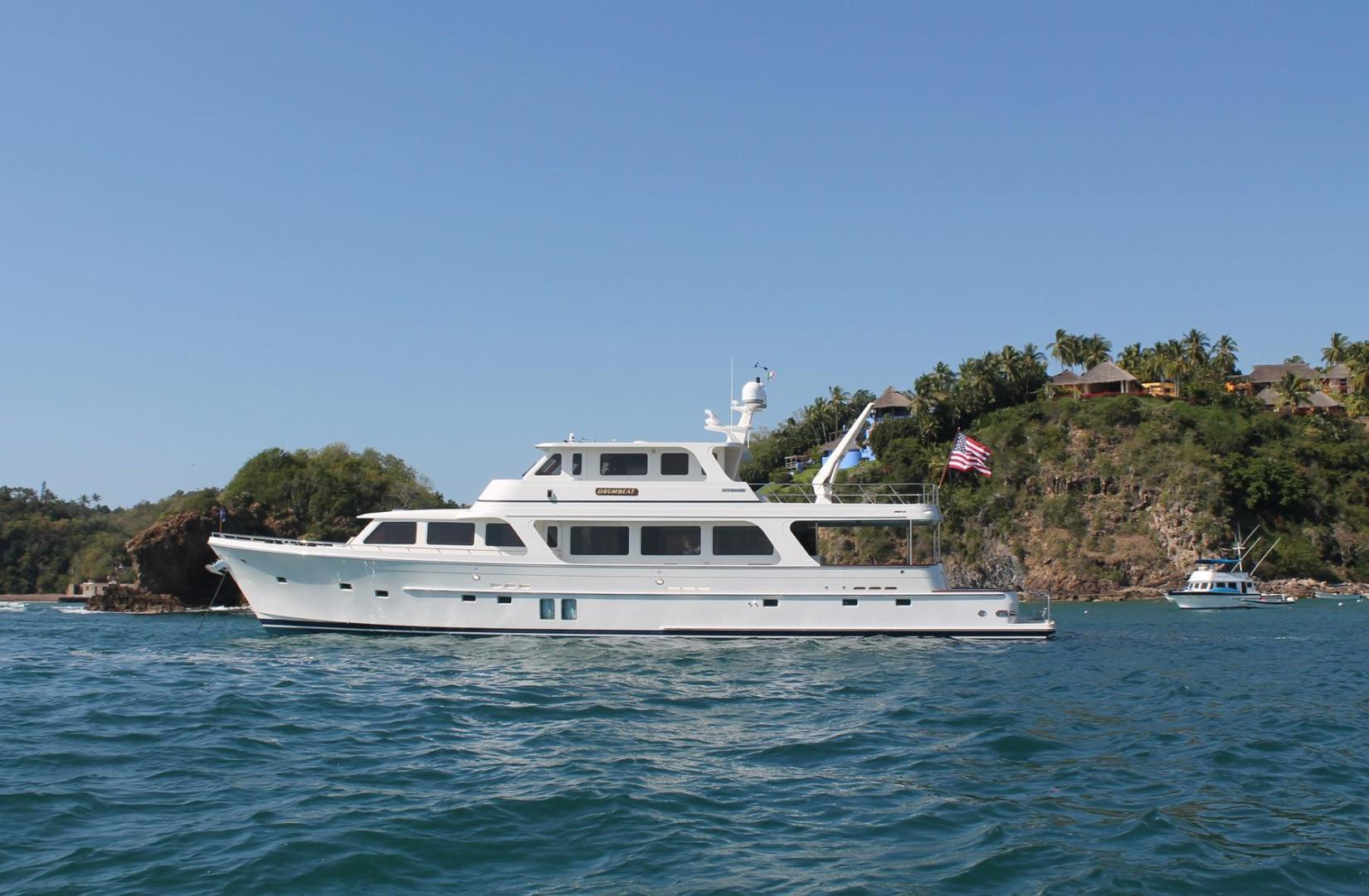 "2013 Offshore Yachts 90' Voyager ""Drumbeat"""