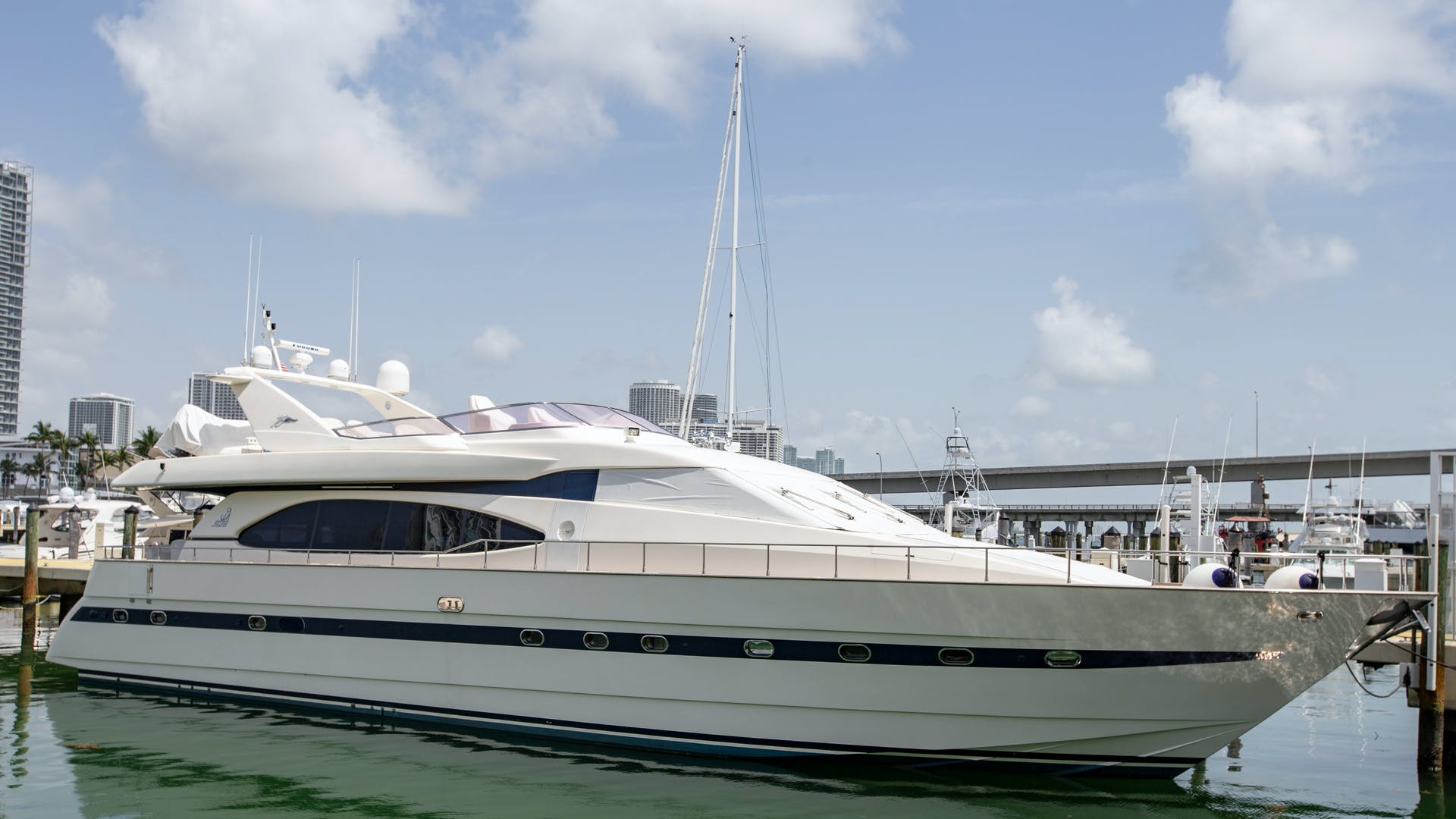 1996 Azimut 78' 78 Ultra Motoryacht Neama | Picture 1 of 36