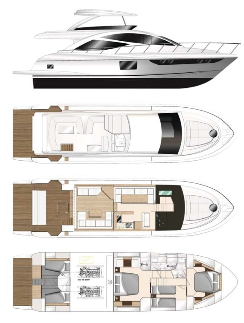 2021 Dyna Yachts 63' Flybridge    Picture 3 of 36