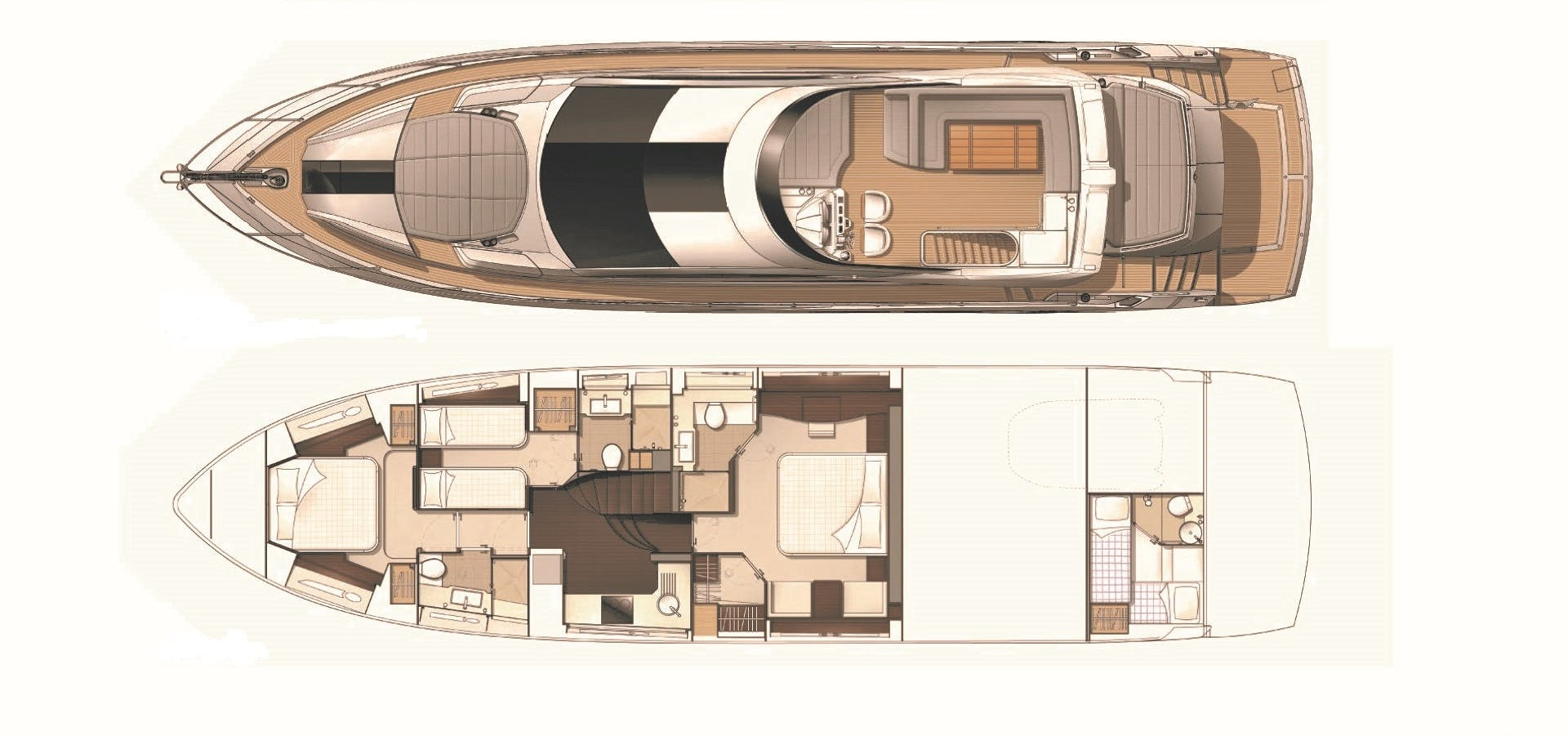 2014 Sunseeker 68' Sport  LONG WAY ROUND | Picture 4 of 36