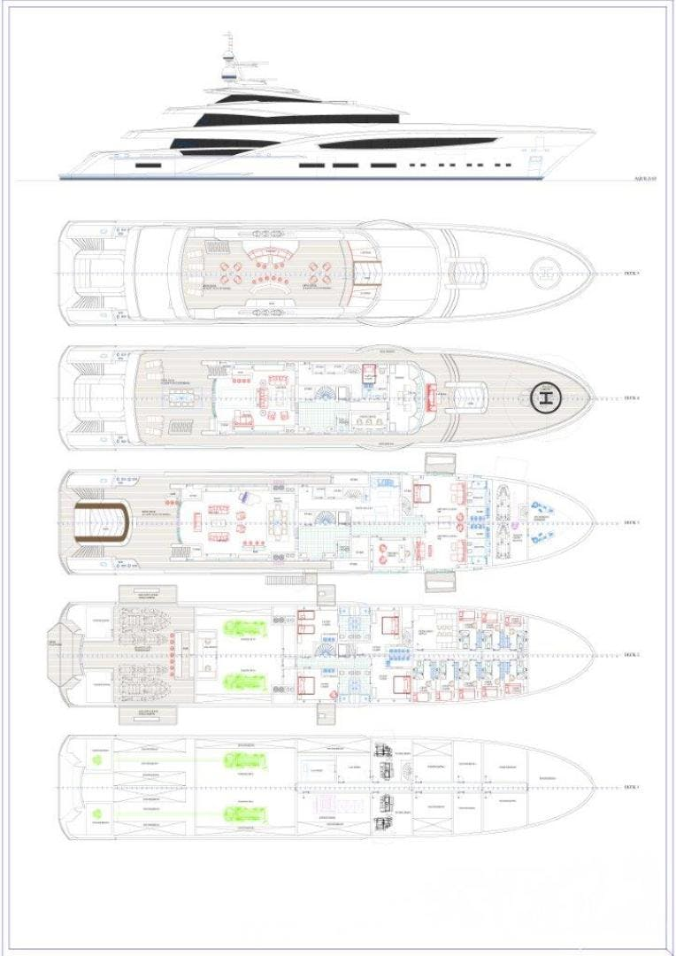 2023 Custom 213' Hull #1 CUSTOM 65M | Picture 3 of 11