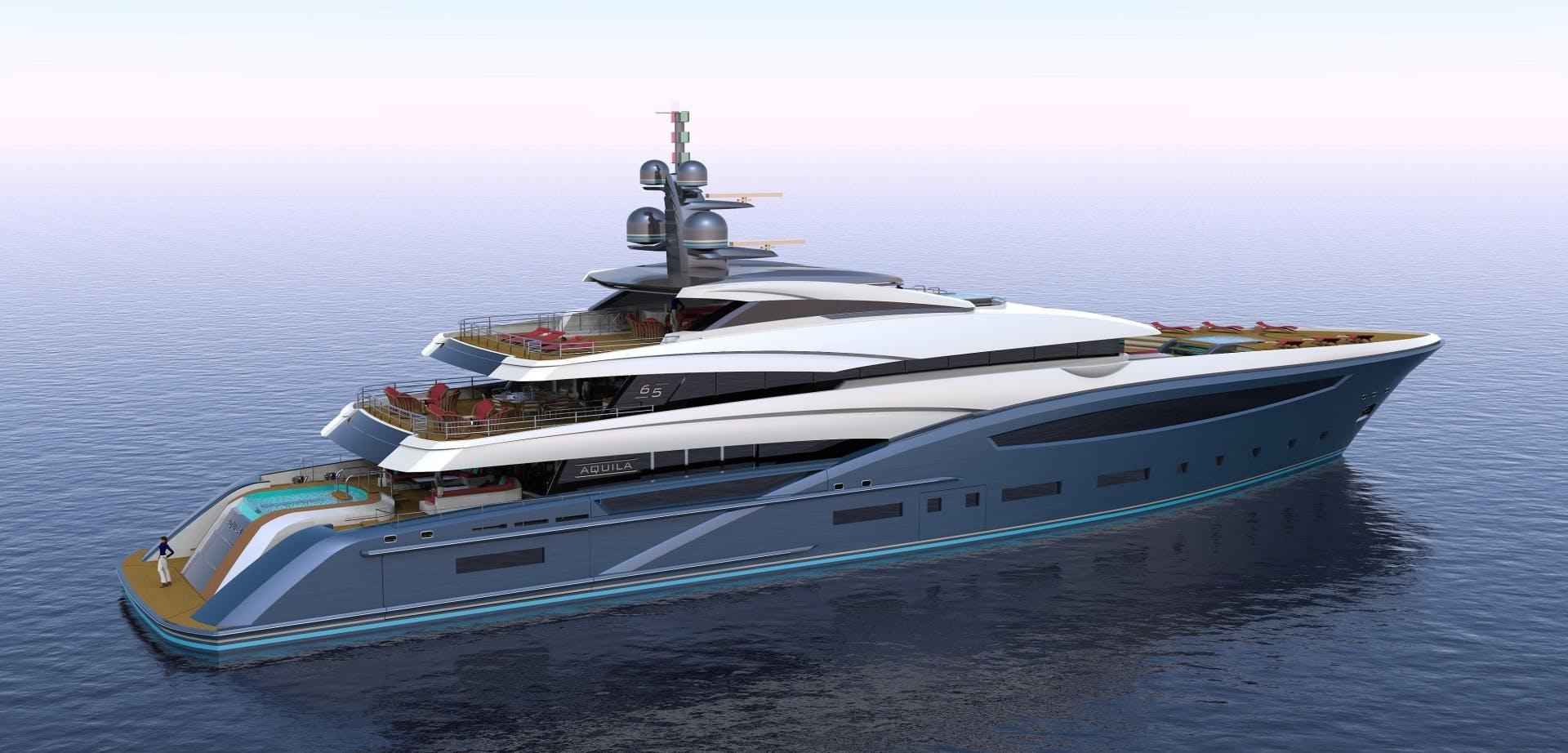 2023 Custom 213' Hull #1 CUSTOM 65M | Picture 4 of 11