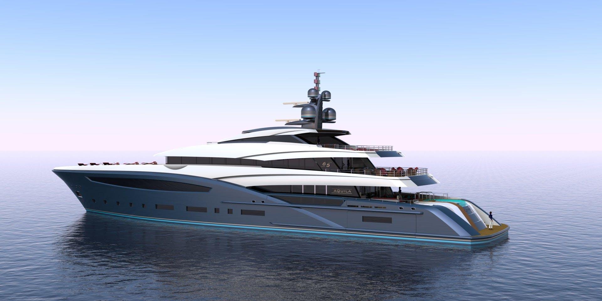 2023 Custom 213' Hull #1 CUSTOM 65M | Picture 7 of 11
