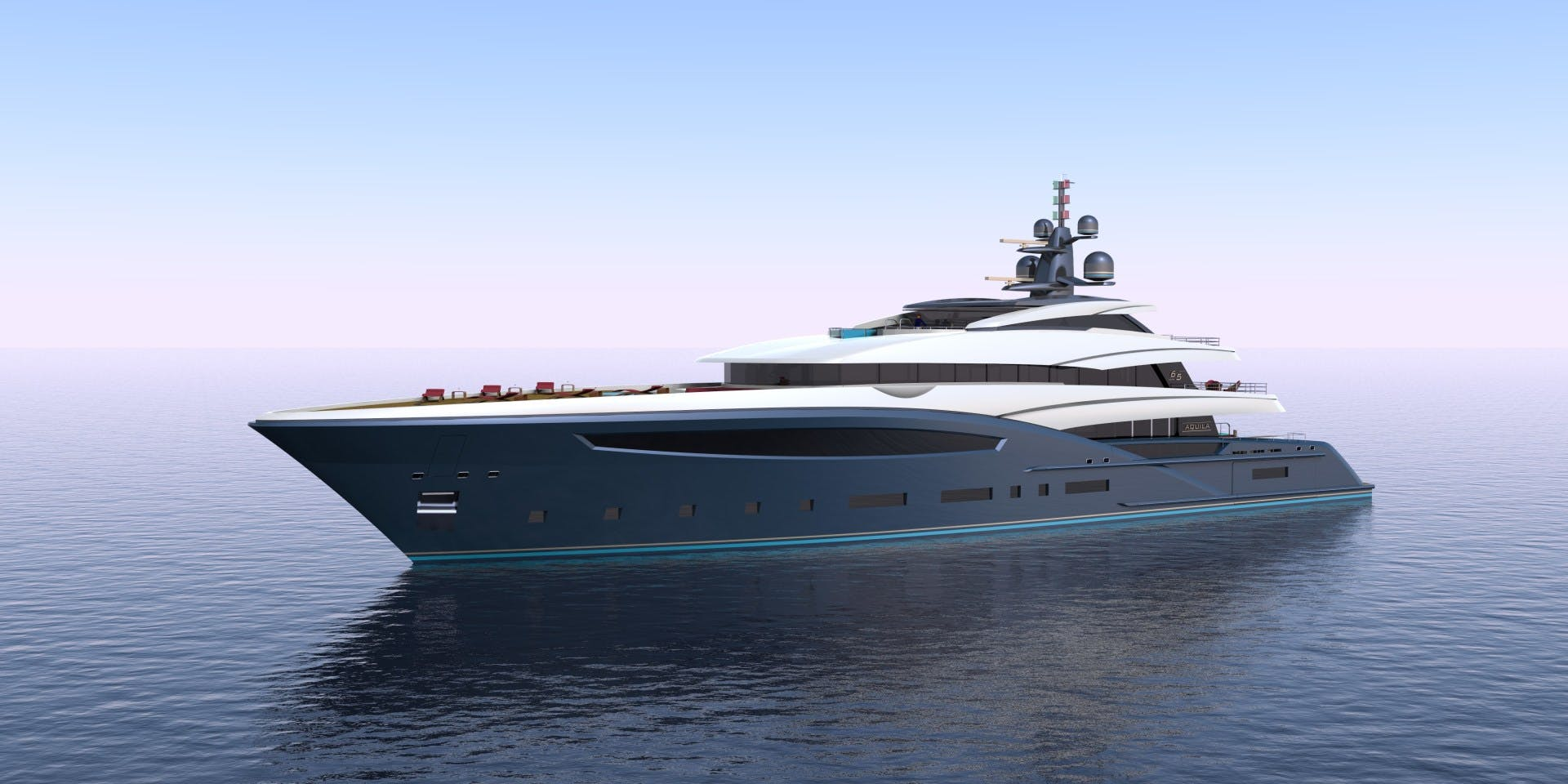 2023 Custom 213' Hull #1 CUSTOM 65M | Picture 6 of 11