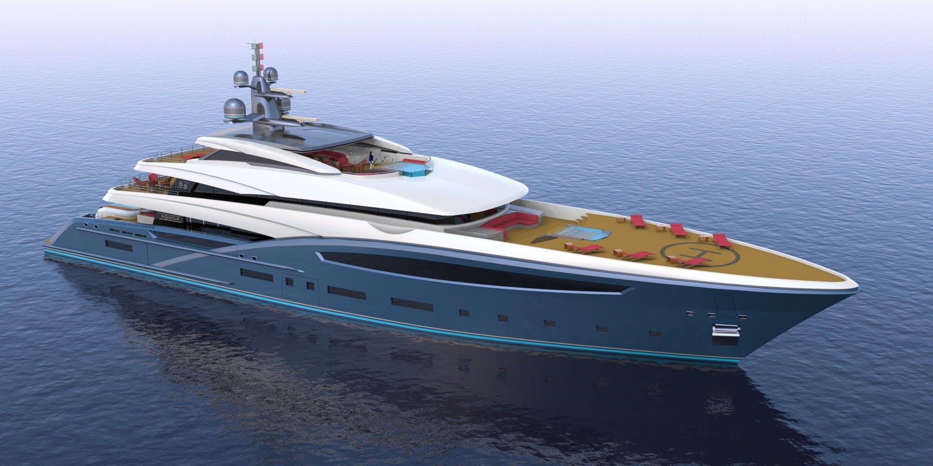 2023 Custom 213' Hull #1 CUSTOM 65M | Picture 5 of 11