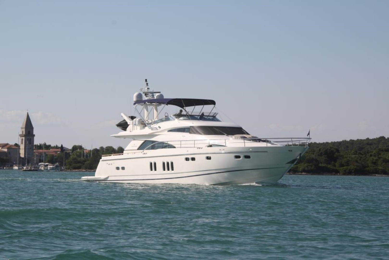 78' Fairline 2009 78 Squadron DOUBLE O SEVEN