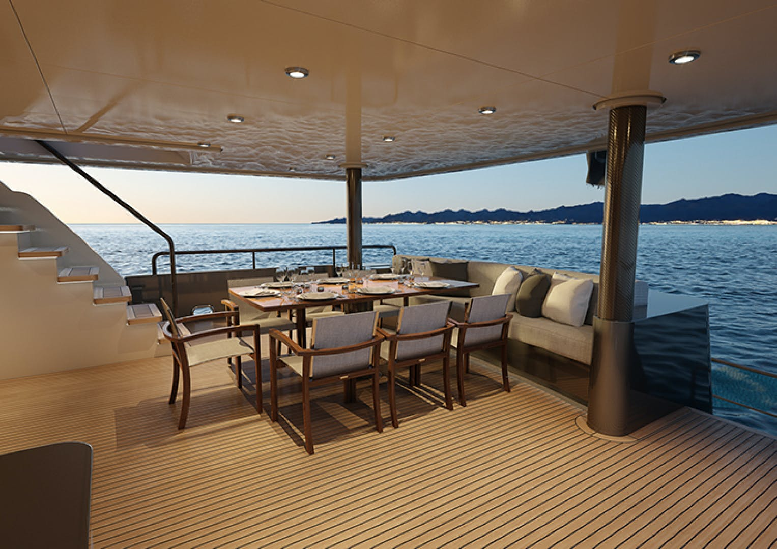 2022 Crescent 110' 110 Fast Pilothouse Yacht CRESCENT 110 | Picture 5 of 13
