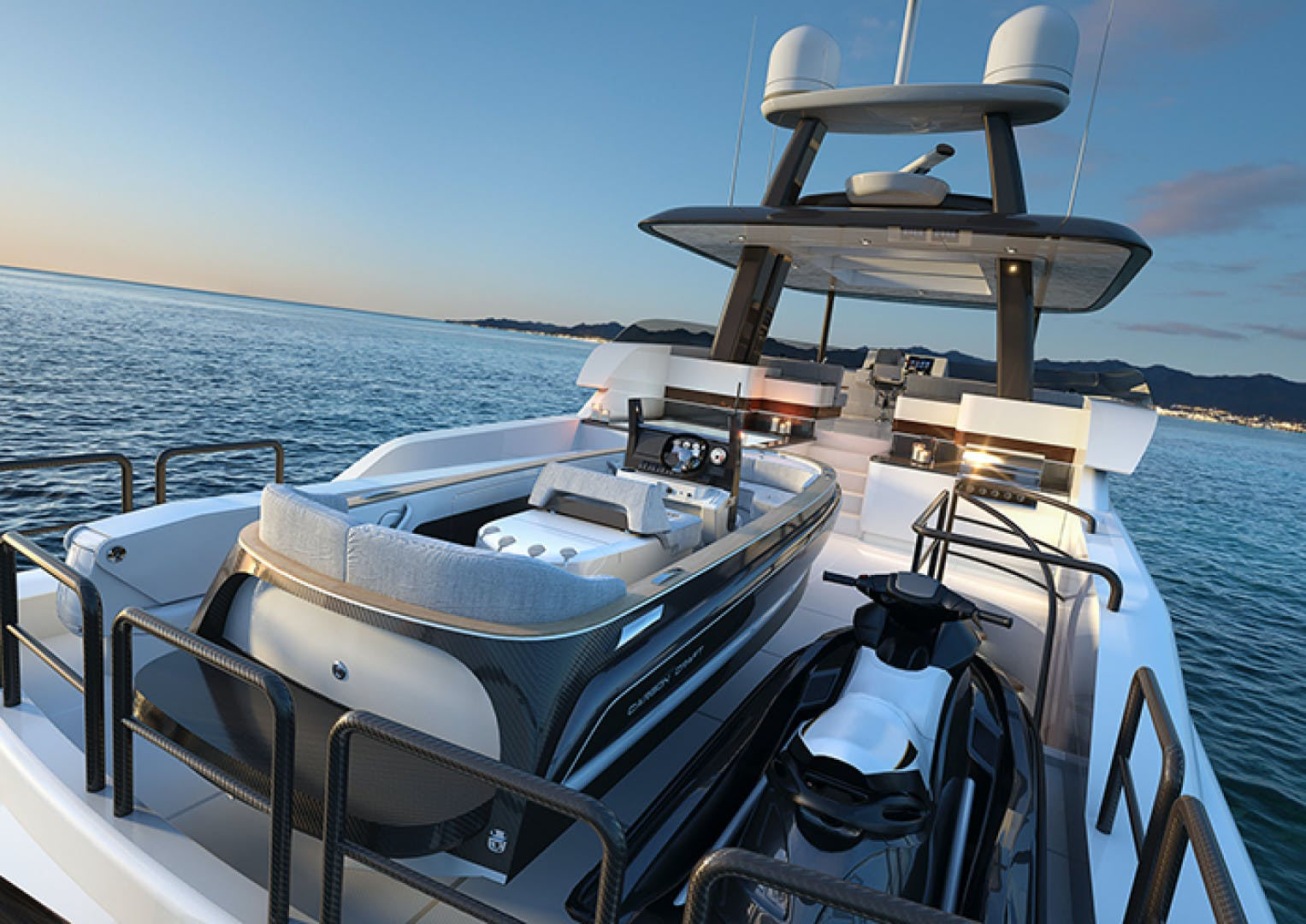 2022 Crescent 110' 110 Fast Pilothouse Yacht CRESCENT 110 | Picture 7 of 13