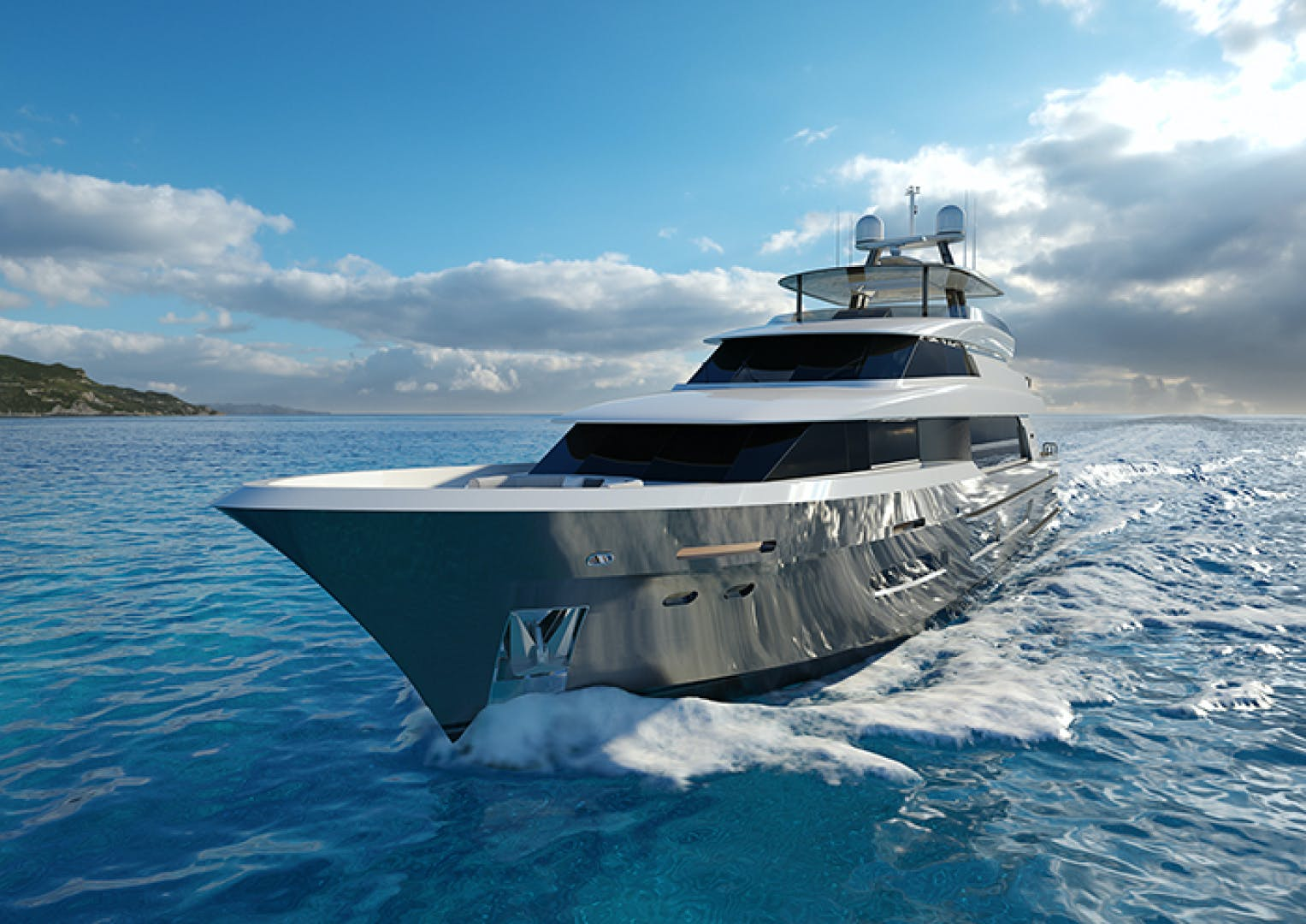 2022 Crescent 110' 110 Fast Pilothouse Yacht CRESCENT 110 | Picture 3 of 13