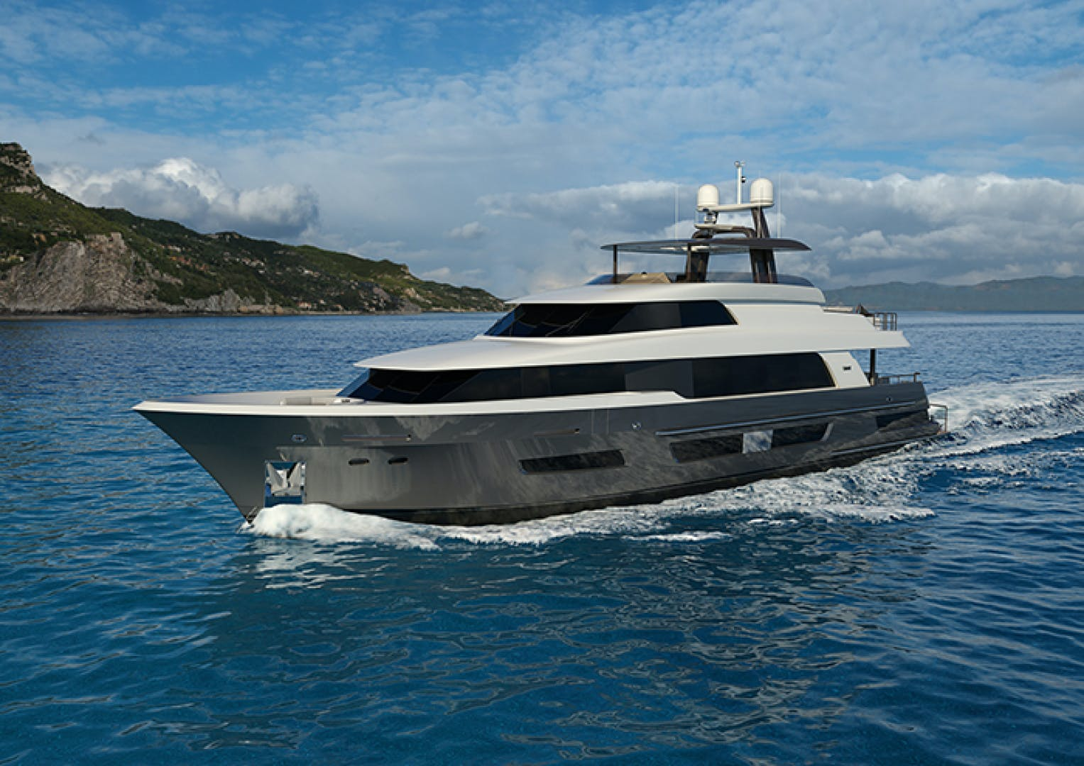 2022 Crescent 110' 110 Fast Pilothouse Yacht CRESCENT 110 | Picture 1 of 13